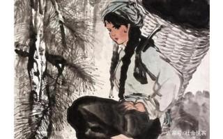 长安画派艺术大师石鲁,工笔如楷书,意笔如草书,传统作品欣赏!