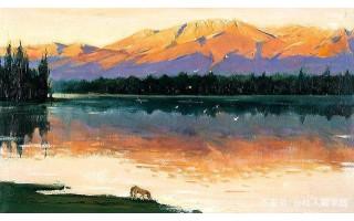 色彩运用巧妙,画风清幽雅丽,全山石10幅风景油画作品欣赏