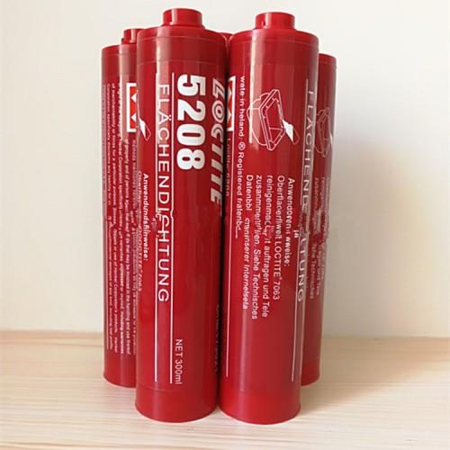 原装进口乐泰5208胶水平面密封厌氧胶金属法兰粘合剂