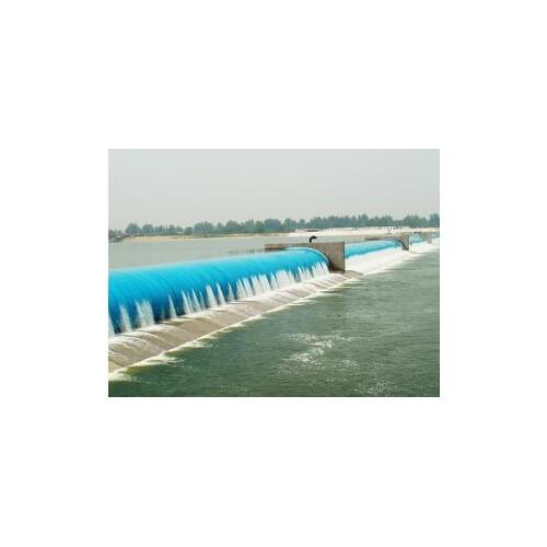 多跨式充水彩色橡胶坝