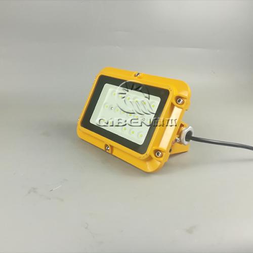 免维护LED防爆灯20w 方形款工程工业照明加应急防水防粉尘防爆灯 防爆泛光灯
