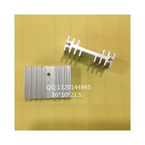 元件IC散热器 散热片 带针孔 散热器