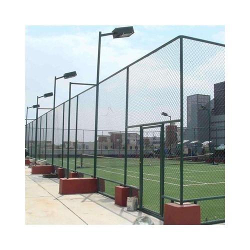 球场护栏网 体育场围栏 浸塑铁丝网 安全防护网 操场围网厂家定制